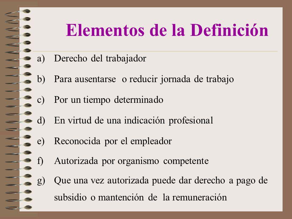 Elementos de la Definición