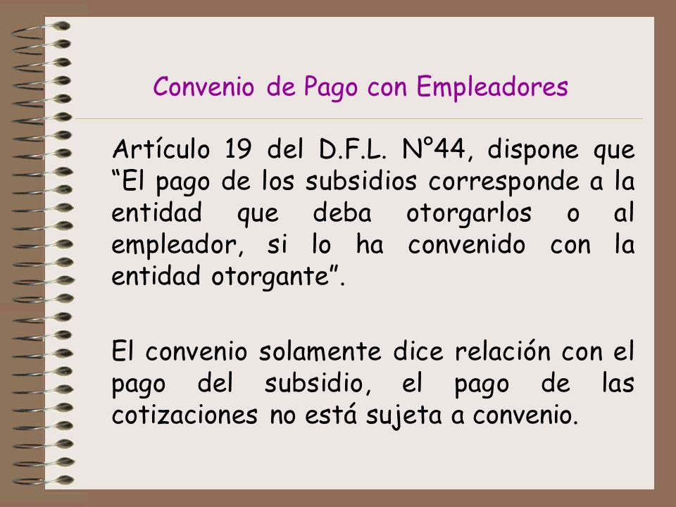 Convenio de Pago con Empleadores