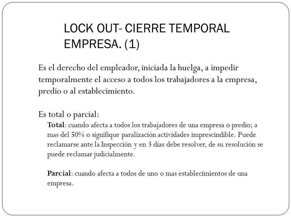 LOCK OUT- CIERRE TEMPORAL EMPRESA. (1)