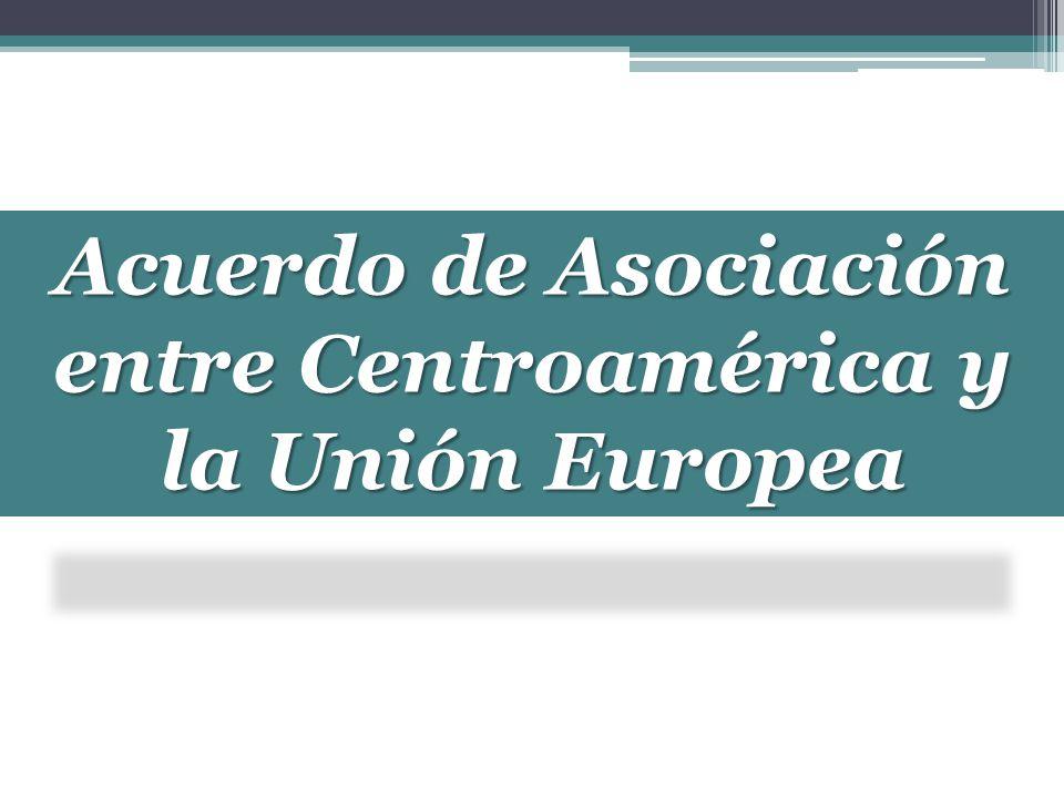 Acuerdo de Asociación entre Centroamérica y la Unión Europea