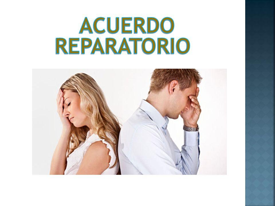ACUERDO REPARATORIO