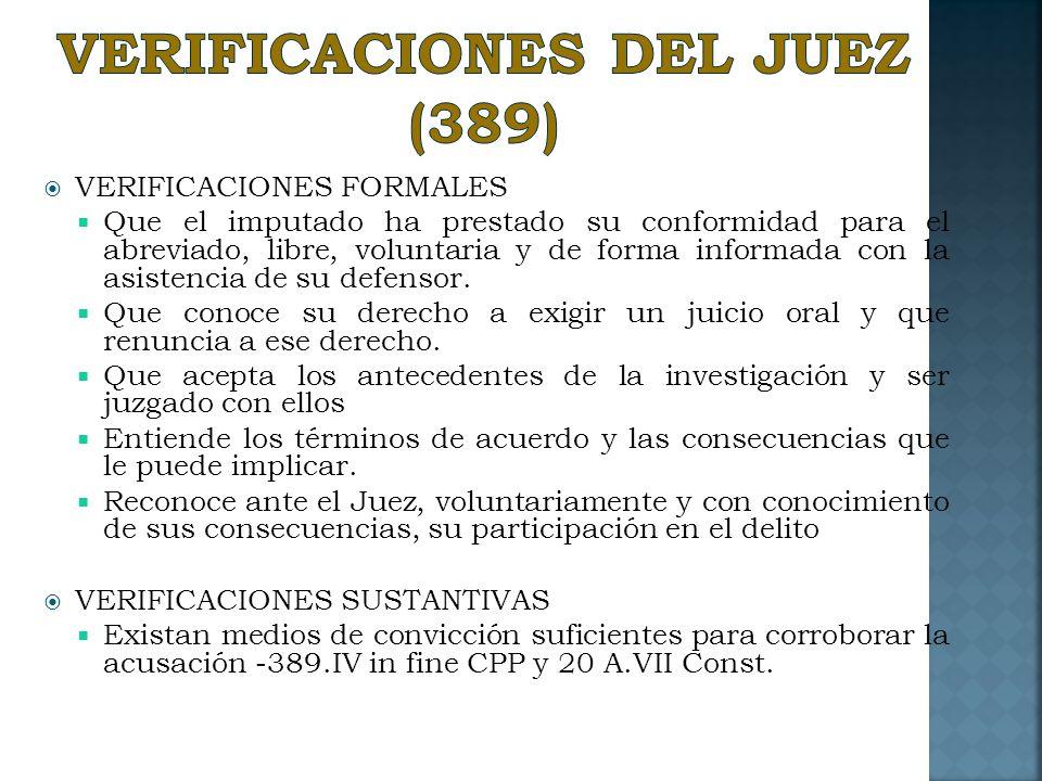 VERIFICACIONES DEL JUEZ (389)