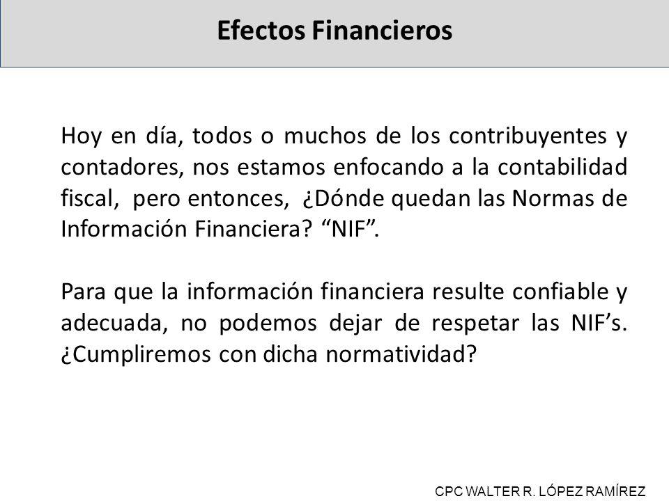 Efectos Financieros
