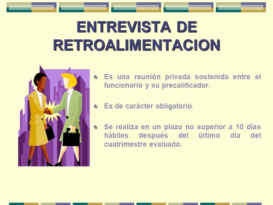ENTREVISTA DE RETROALIMENTACION