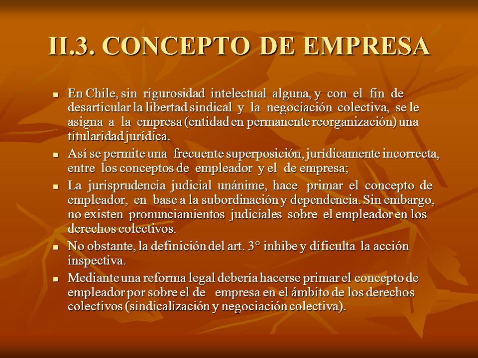 II.3. CONCEPTO DE EMPRESA