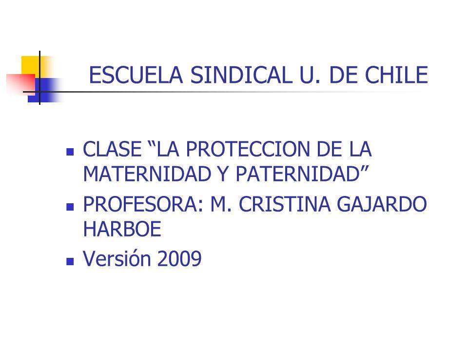 ESCUELA SINDICAL U. DE CHILE