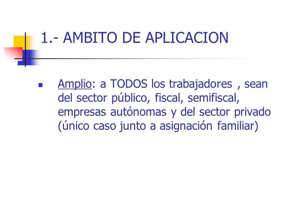 1.- AMBITO DE APLICACION