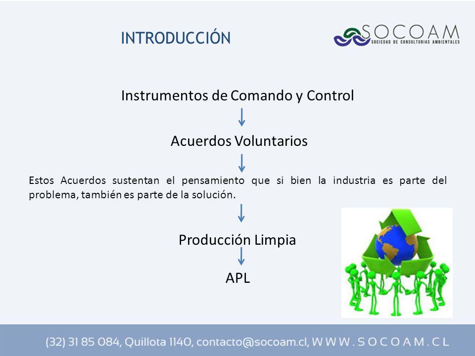 Instrumentos de Comando y Control