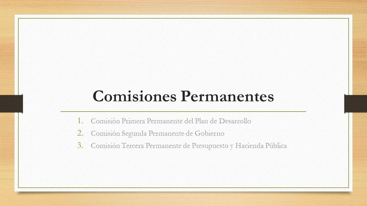 Comisiones Permanentes