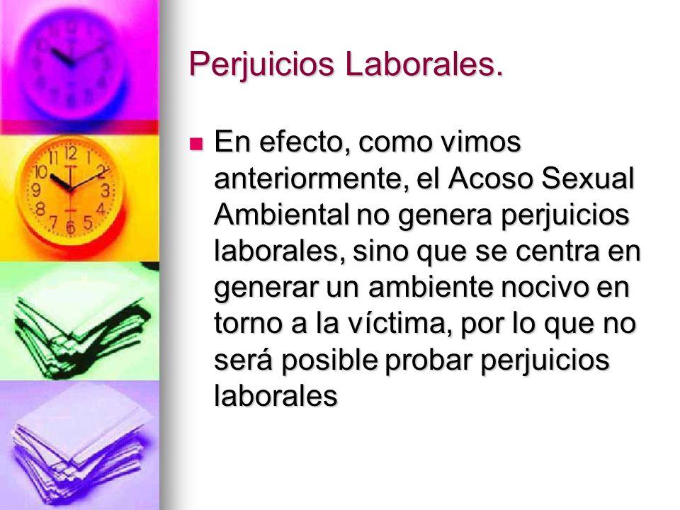 Perjuicios Laborales.