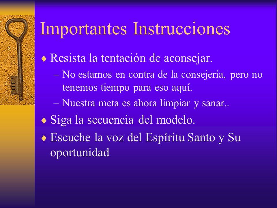 Importantes Instrucciones