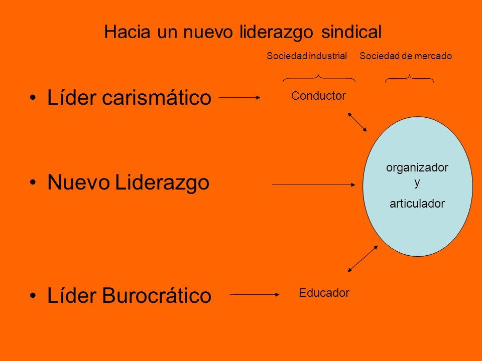 Hacia un nuevo liderazgo sindical