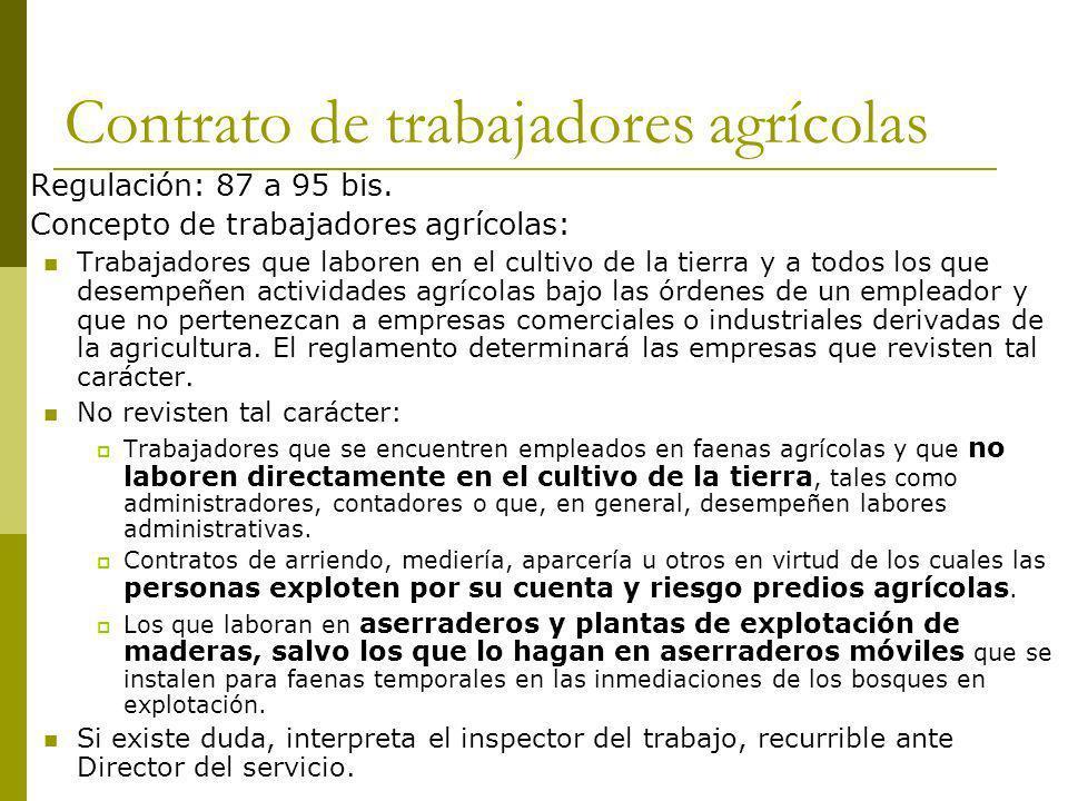 Contrato de trabajadores agrícolas