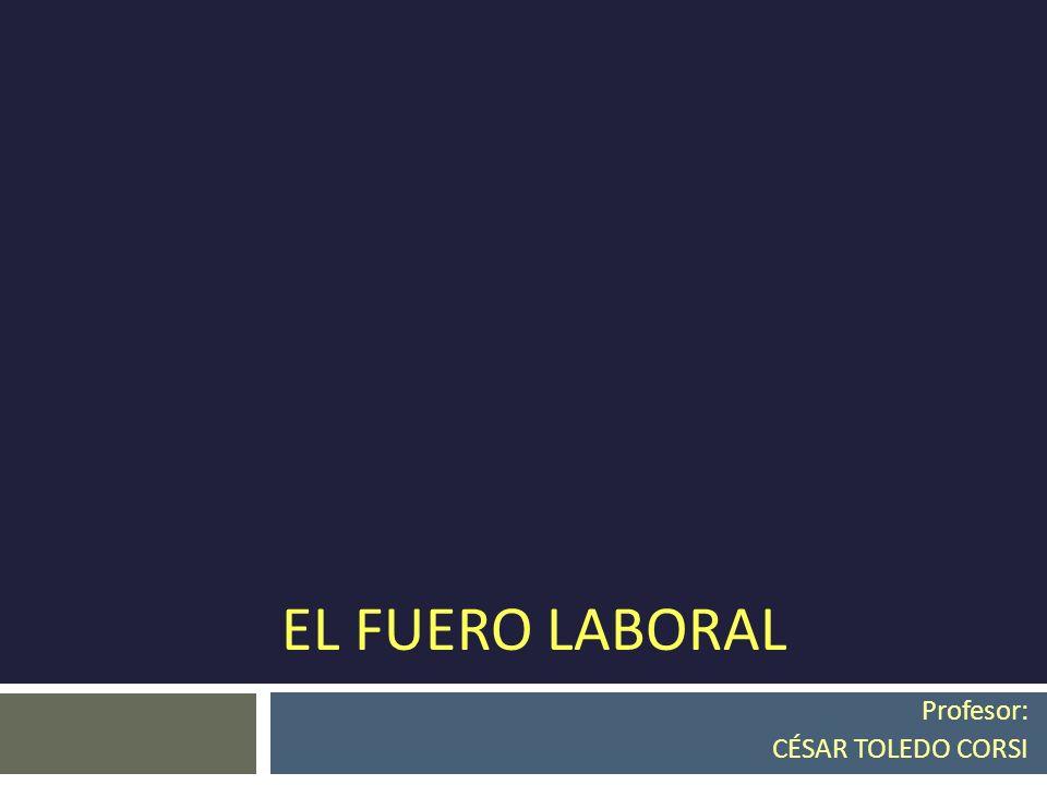 Profesor: CÉSAR TOLEDO CORSI