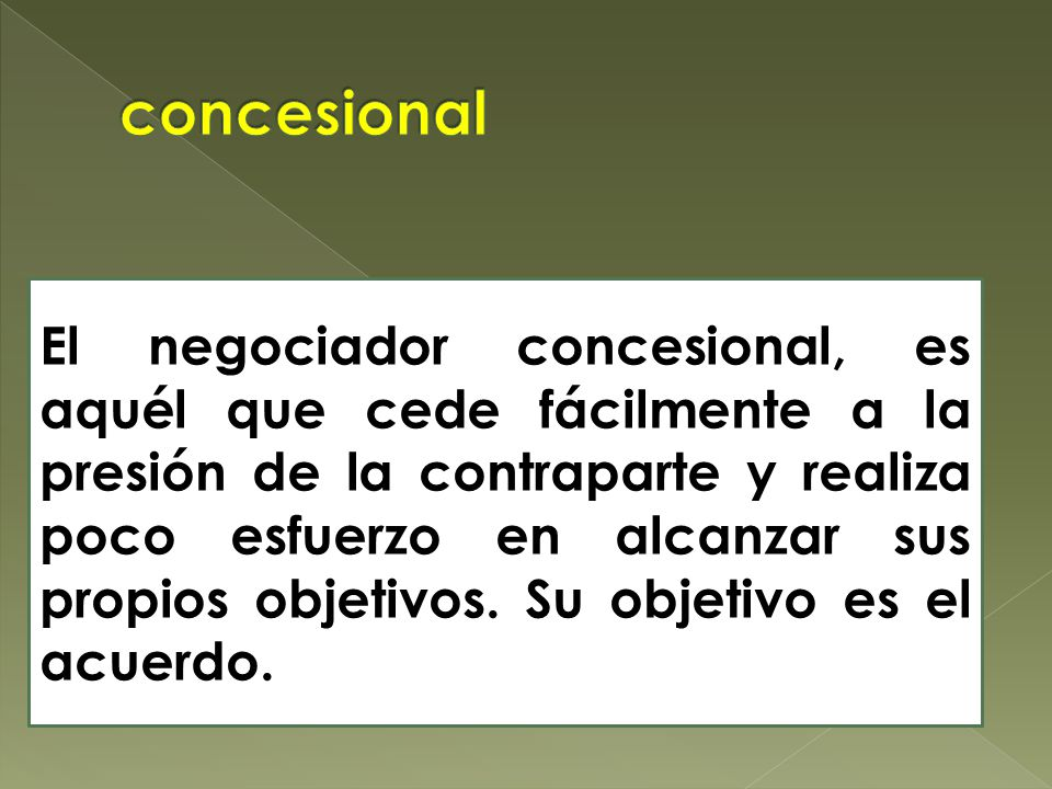 concesional