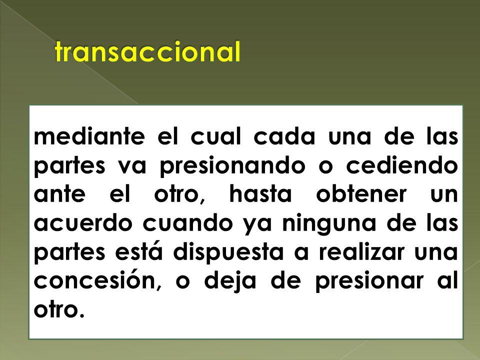 transaccional