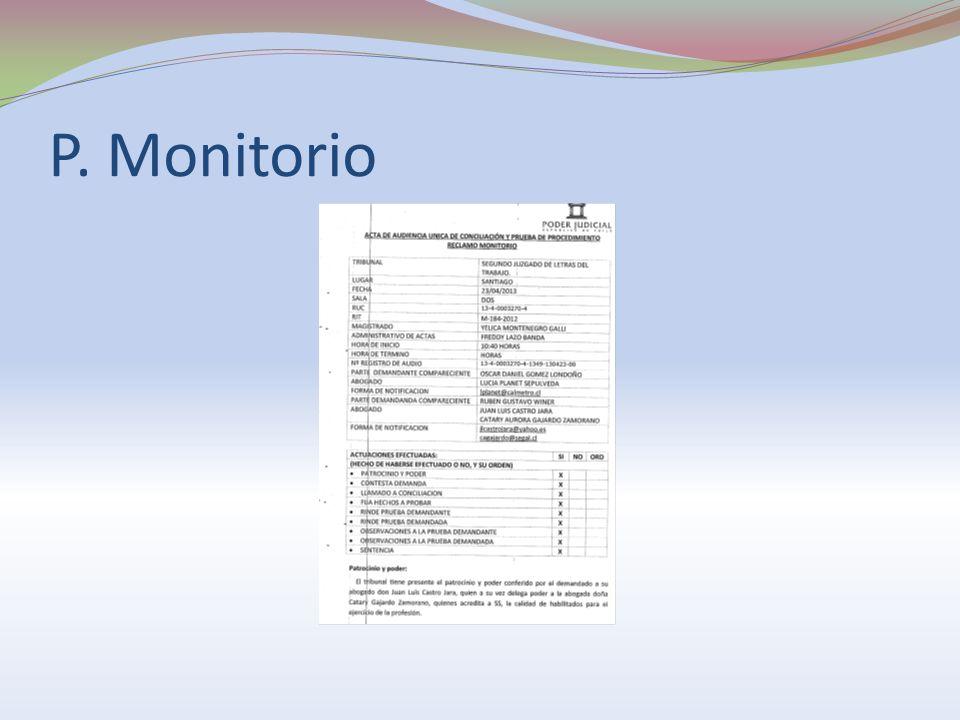 P. Monitorio