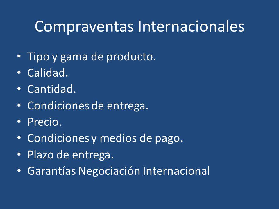 Compraventas Internacionales