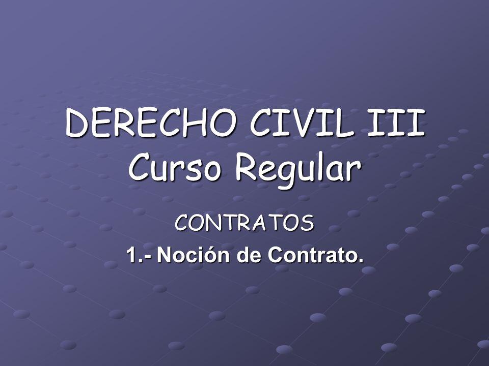 DERECHO CIVIL III Curso Regular