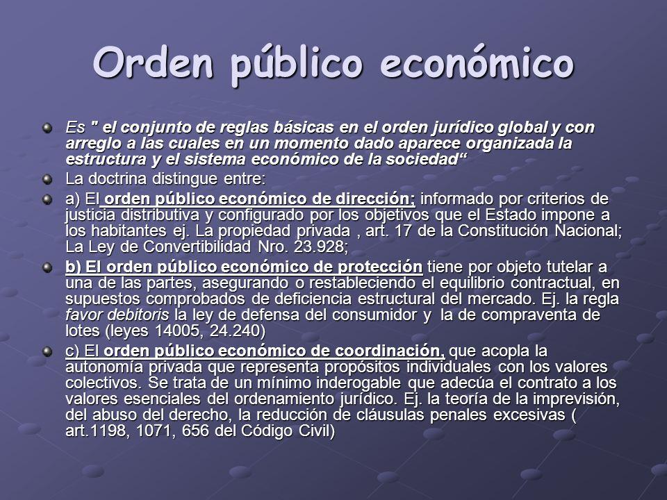 Orden público económico