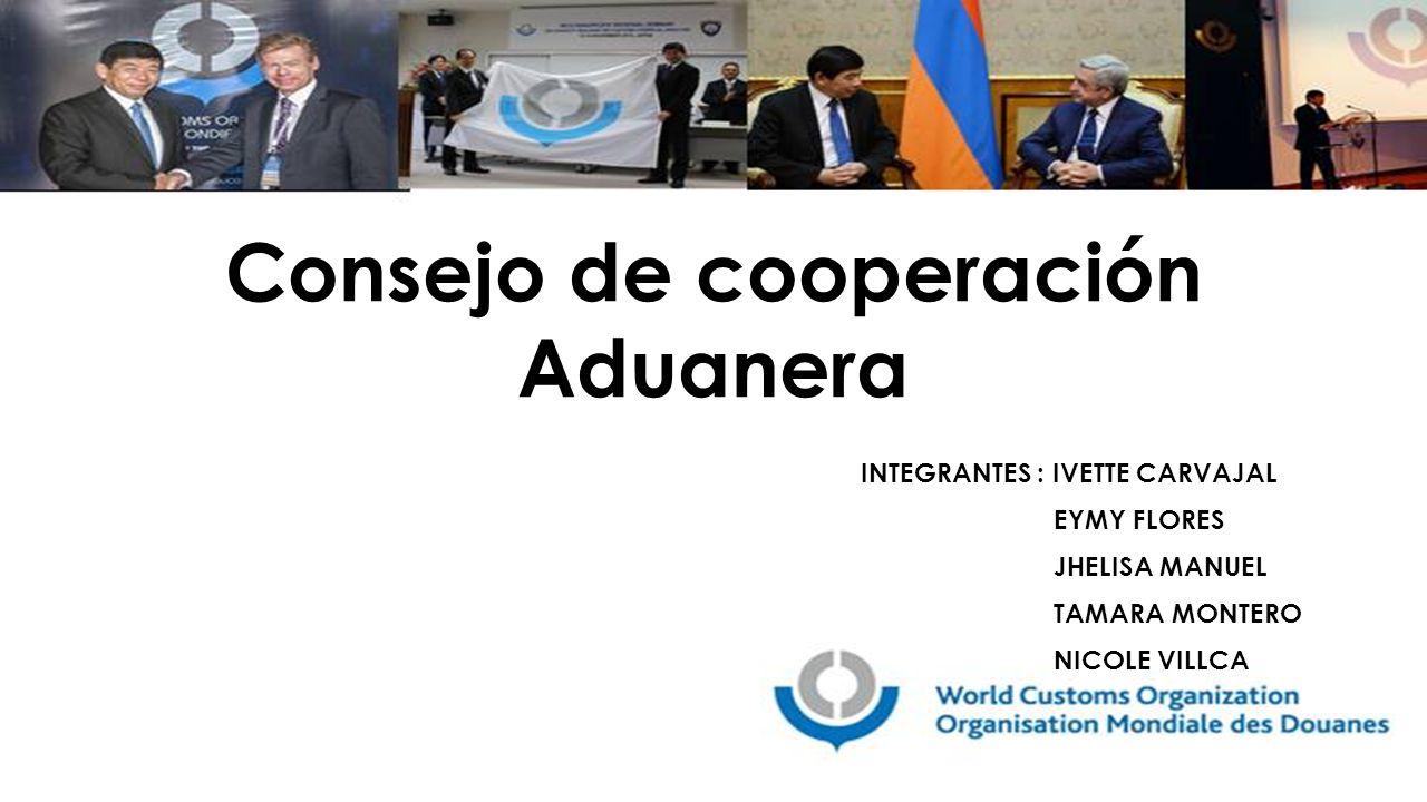 Consejo de cooperación Aduanera