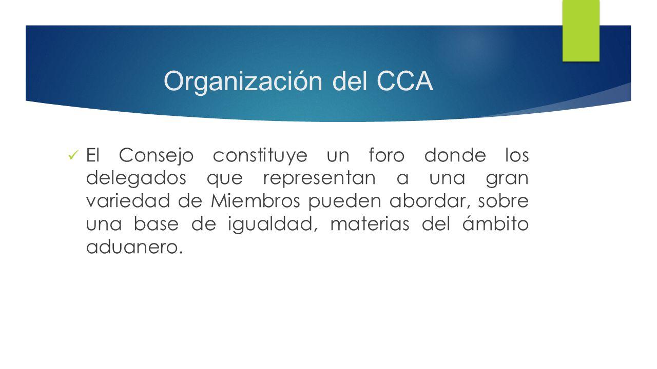 Organización del CCA