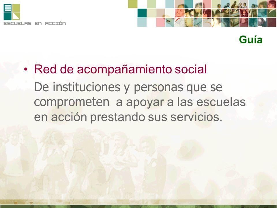Red de acompañamiento social