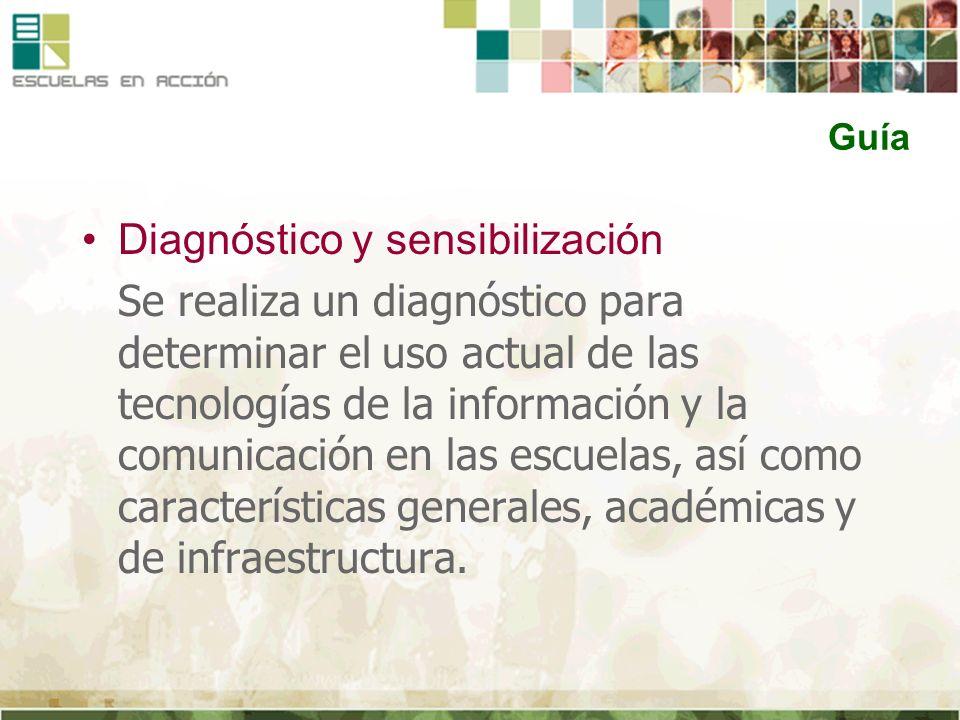 Diagnóstico y sensibilización