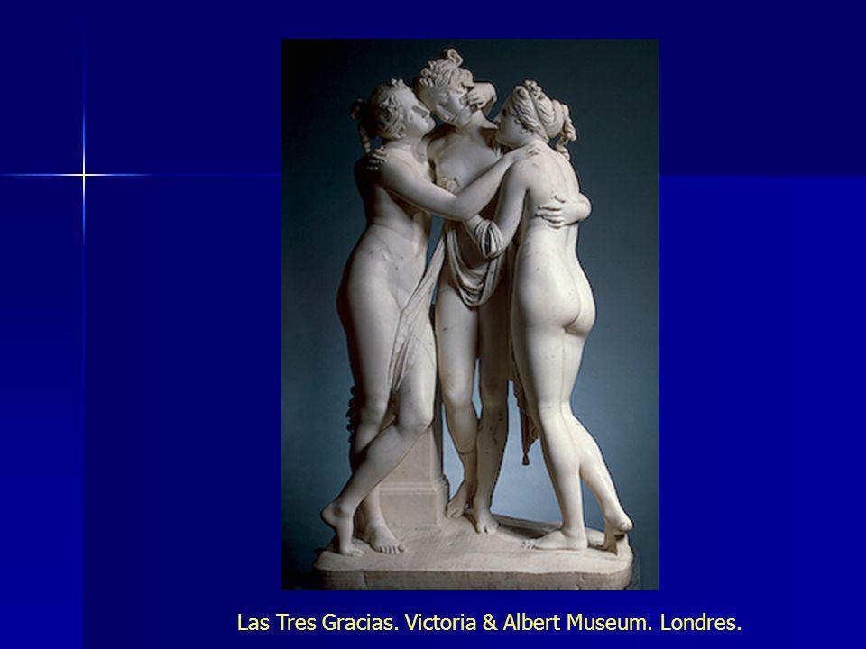 Las Tres Gracias. Victoria & Albert Museum. Londres.