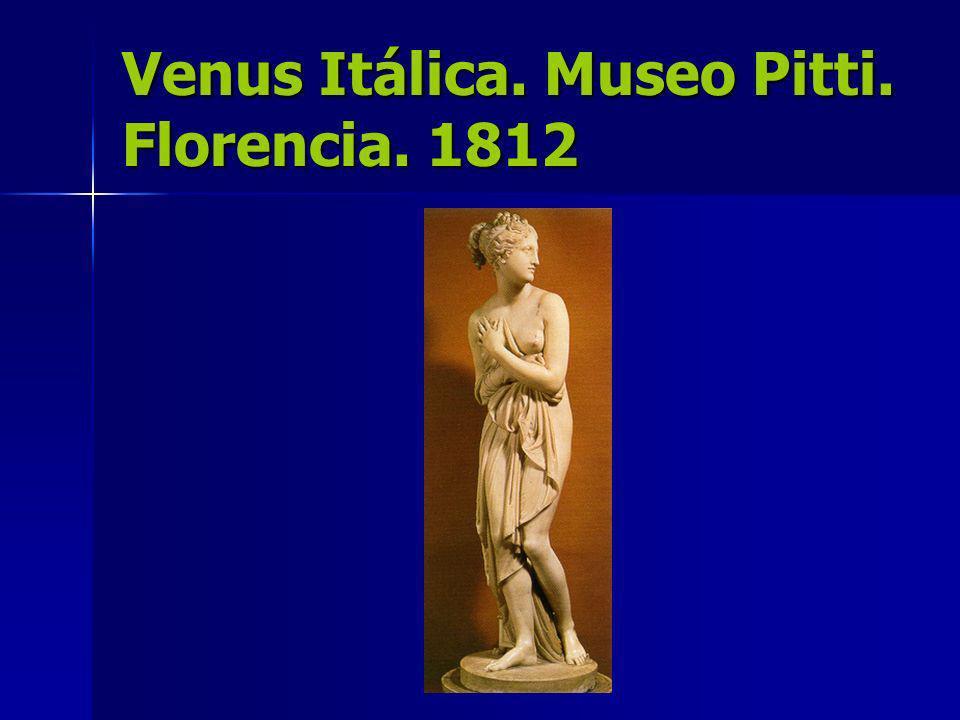 Venus Itálica. Museo Pitti. Florencia. 1812