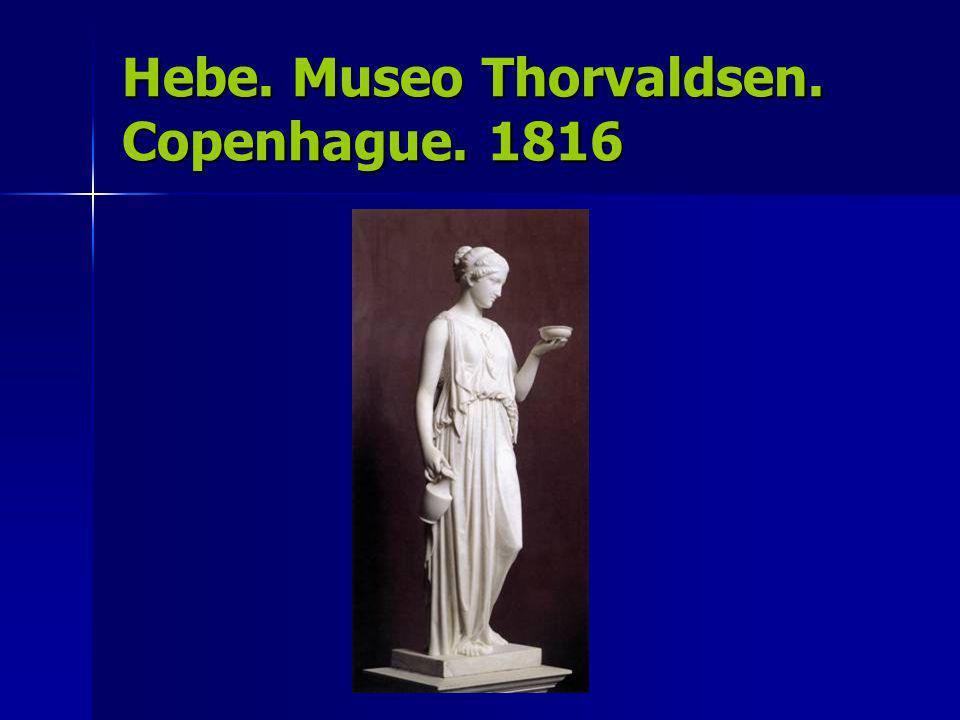 Hebe. Museo Thorvaldsen. Copenhague. 1816