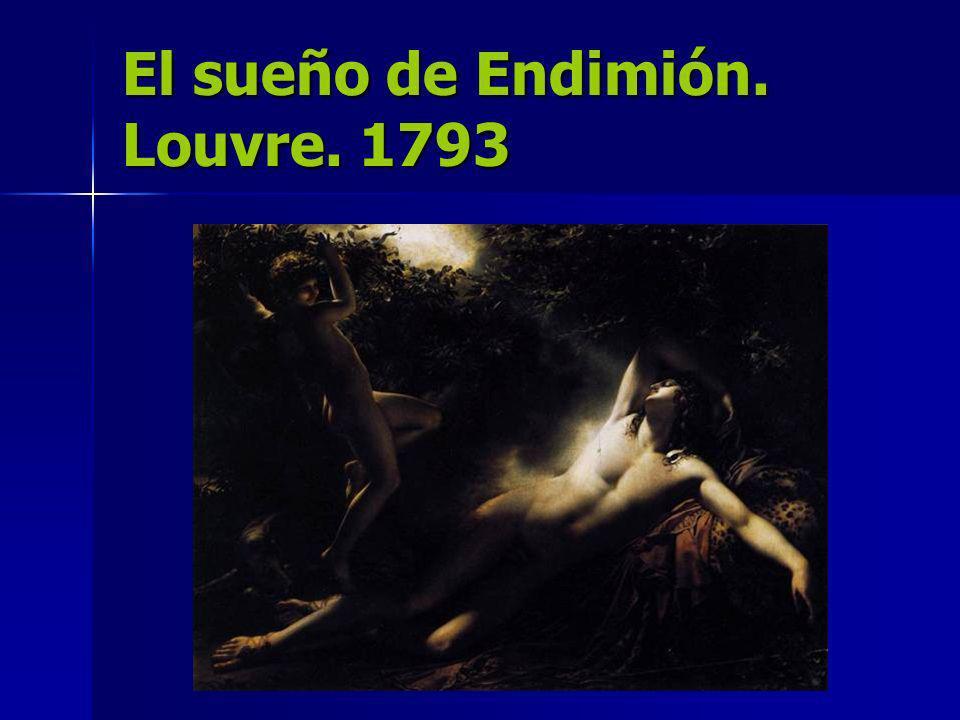 El sueño de Endimión. Louvre. 1793