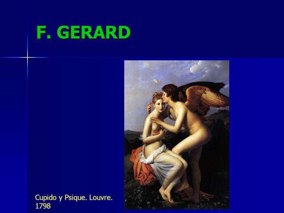 F. GERARD Cupido y Psique. Louvre. 1798