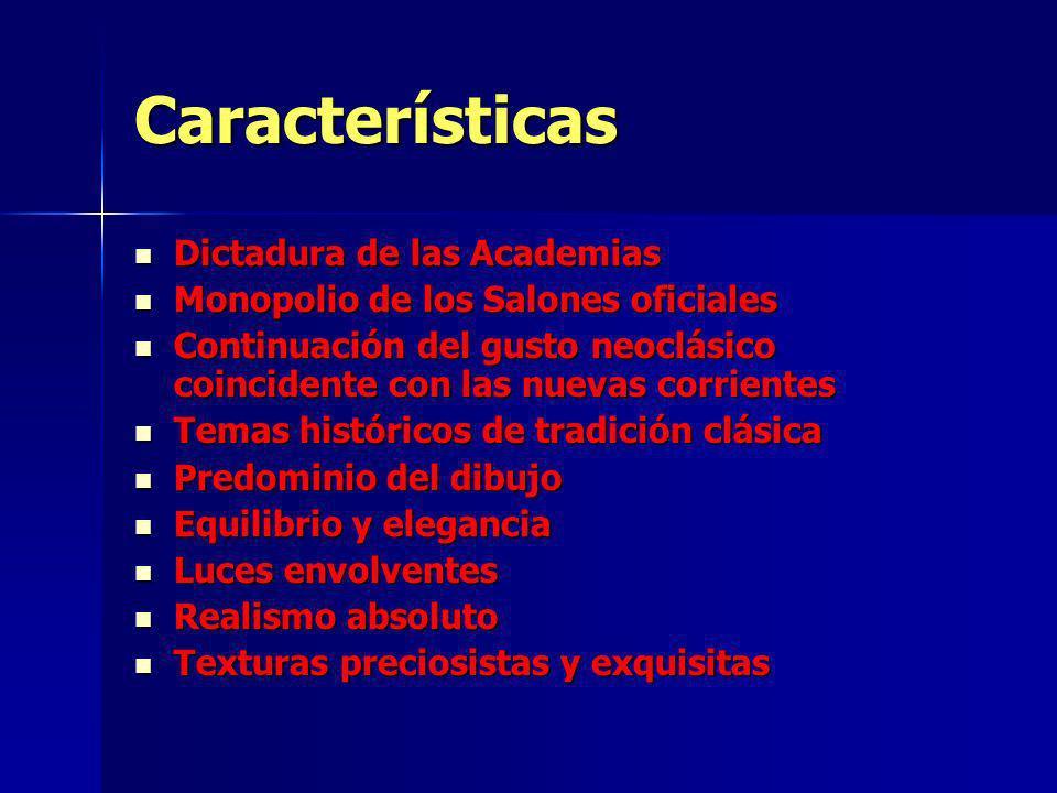 Características Dictadura de las Academias