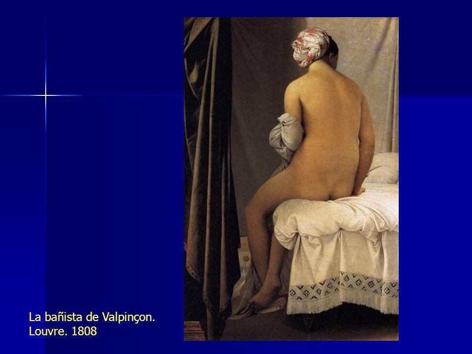 La bañista de Valpinçon. Louvre. 1808