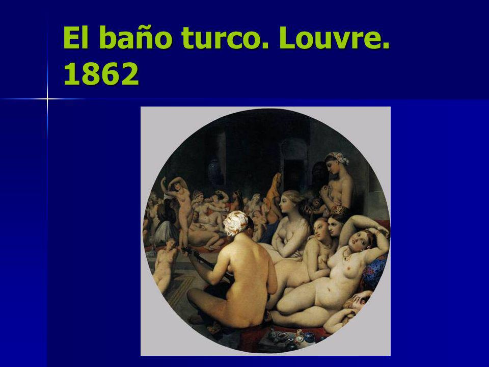 El baño turco. Louvre. 1862