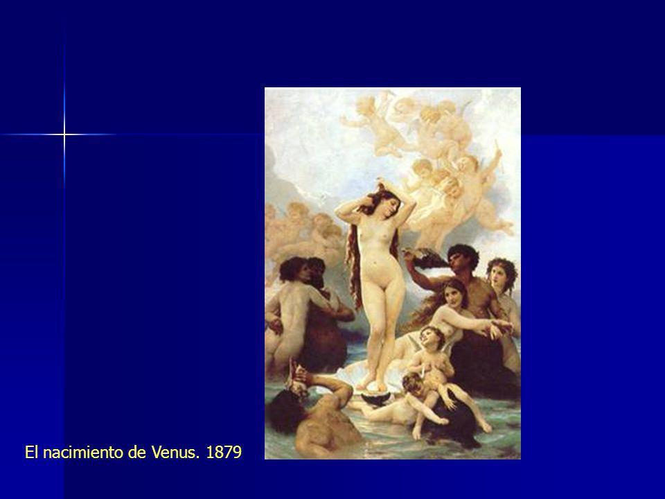 El nacimiento de Venus. 1879