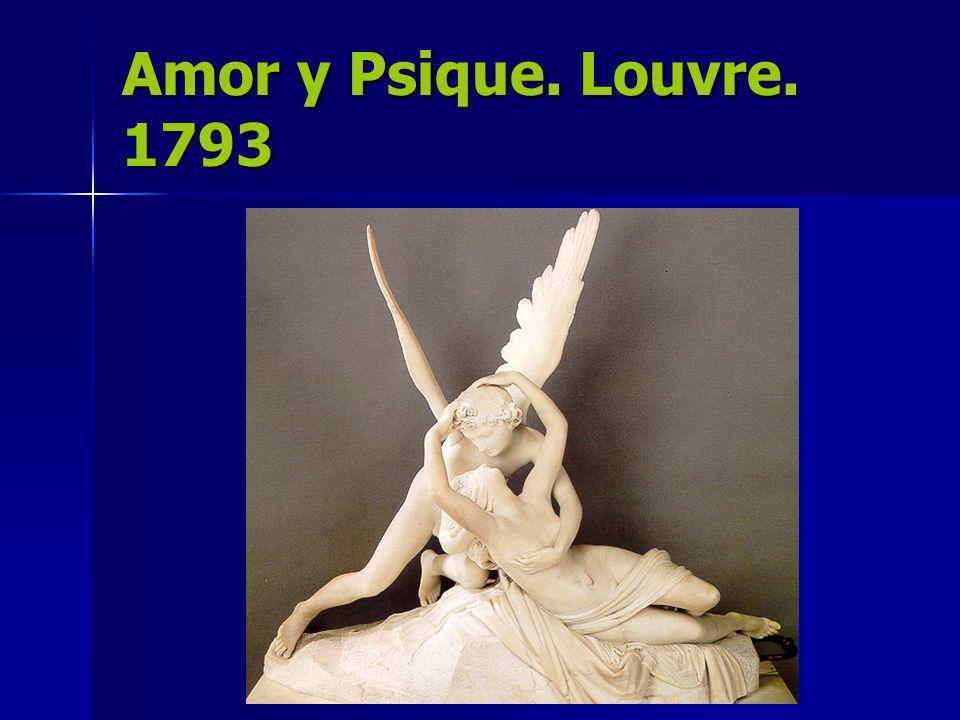 Amor y Psique. Louvre. 1793