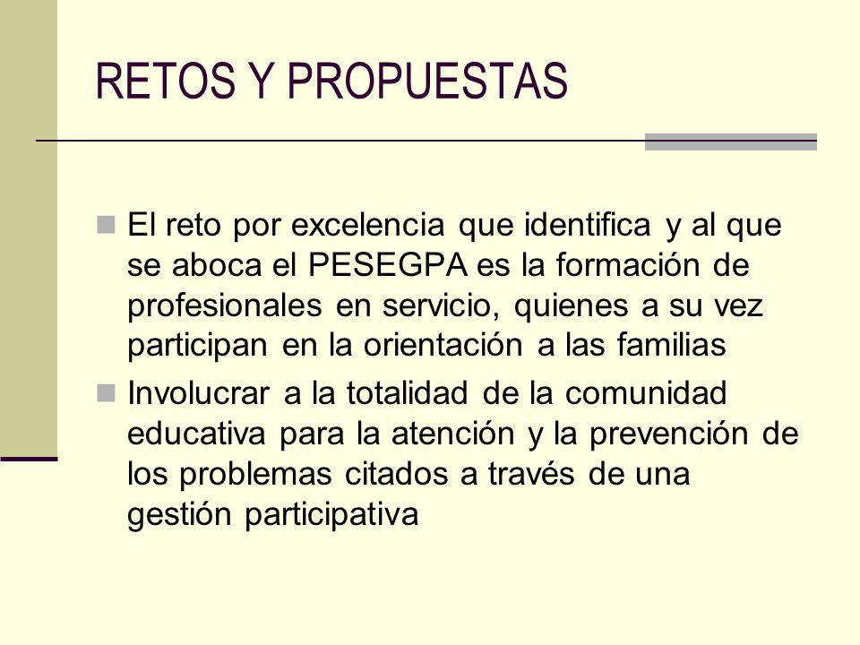 RETOS Y PROPUESTAS