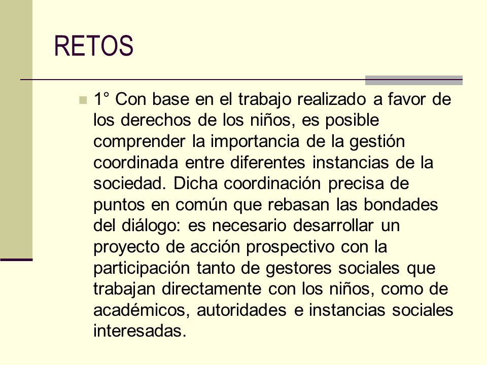 RETOS