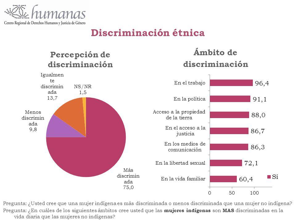 Discriminación étnica
