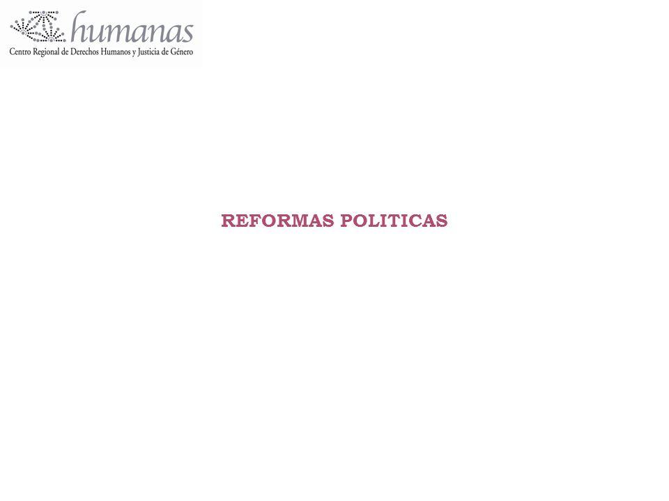 REFORMAS POLITICAS