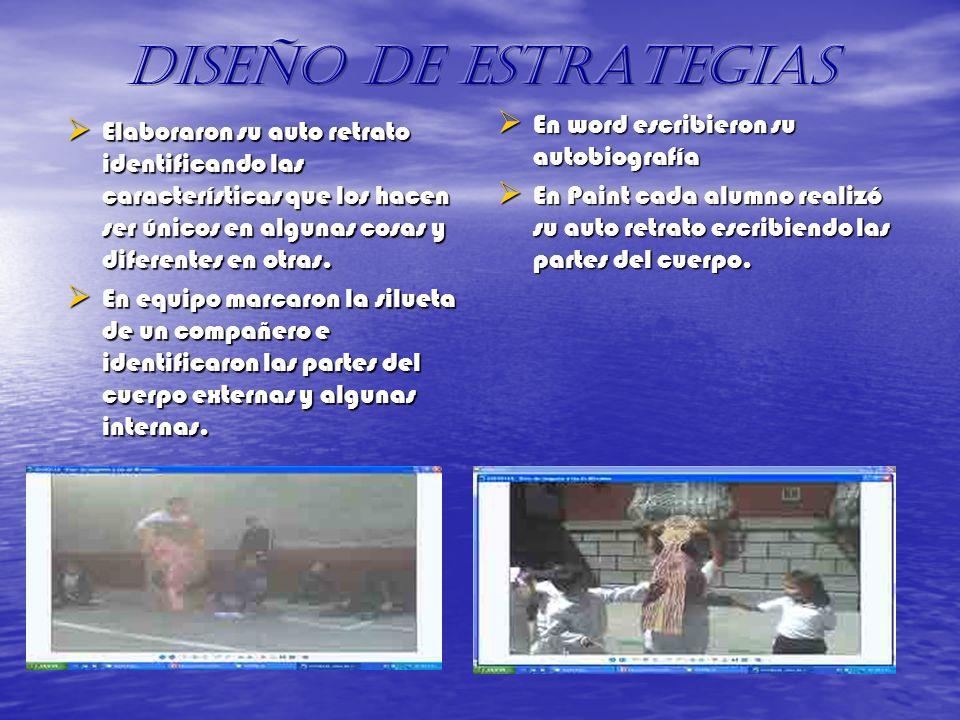DISEÑO DE ESTRATEGIAS En word escribieron su autobiografía