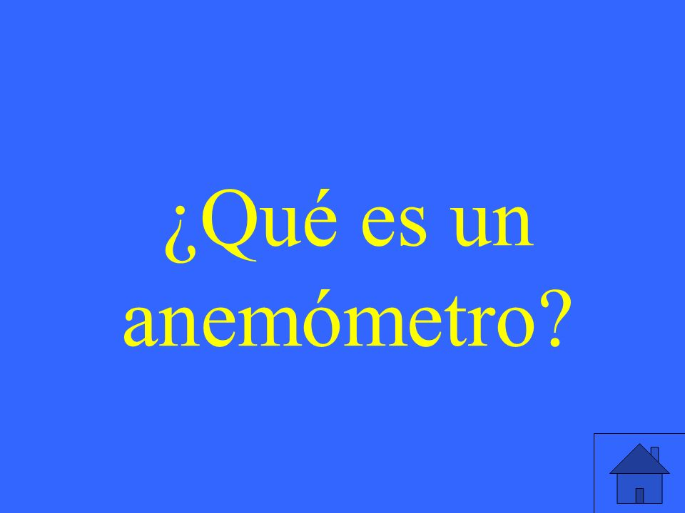 ¿Qué es un anemómetro