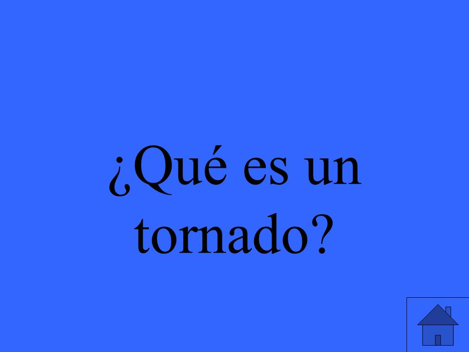 ¿Qué es un tornado