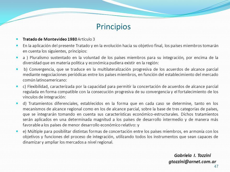 Principios Gabriela I. Tozzini gtozzini@arnet.com.ar
