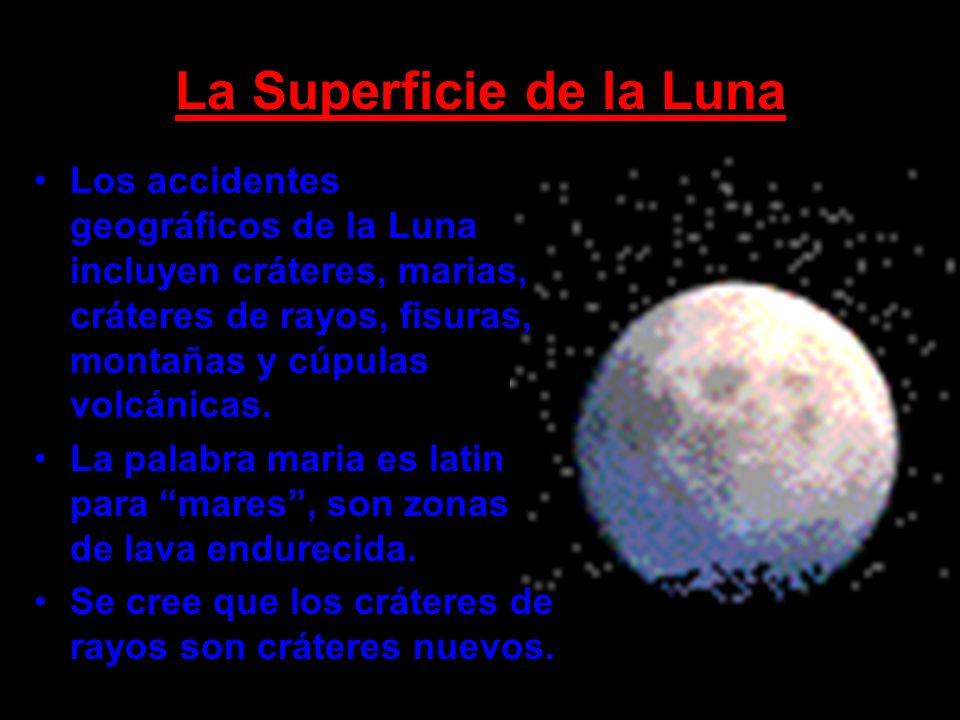 La Superficie de la Luna