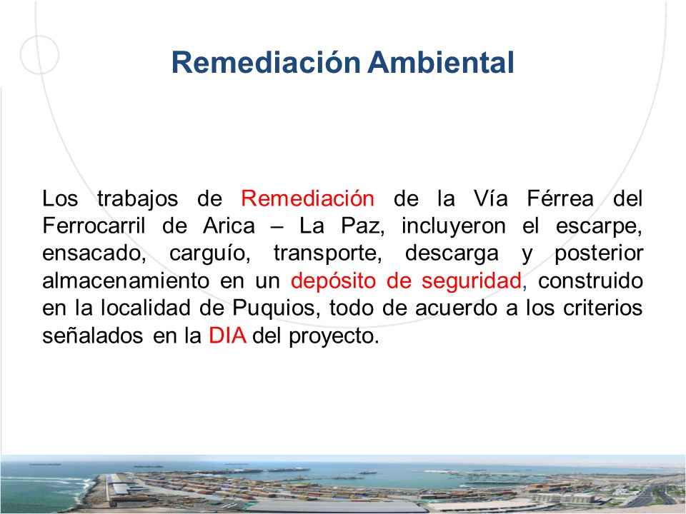 Remediación Ambiental