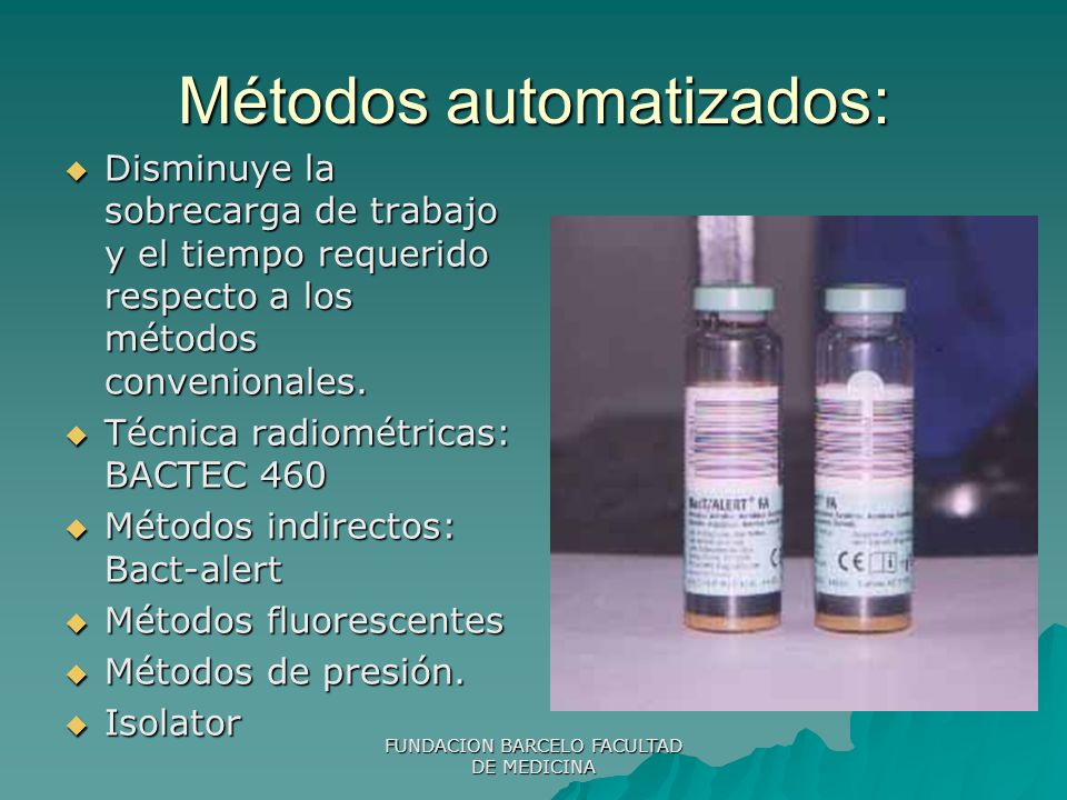 Métodos automatizados: