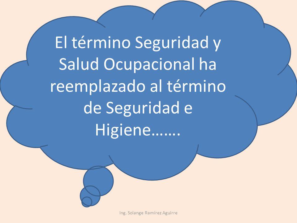 Ing. Solange Ramírez Aguirre